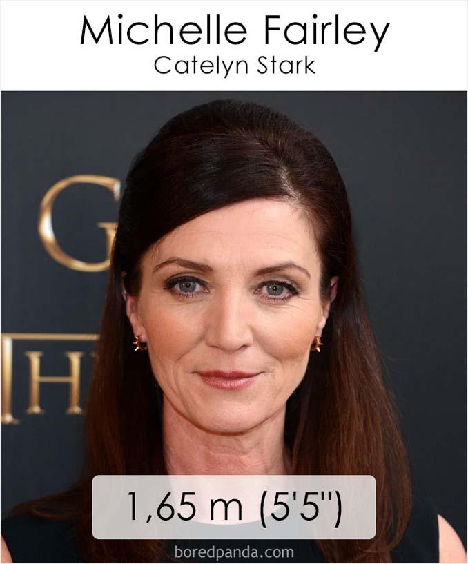 Η λίστα με το ύψος των ηθοποιών του Game of Thrones κρύβει πολλές εκπλήξεις (4)