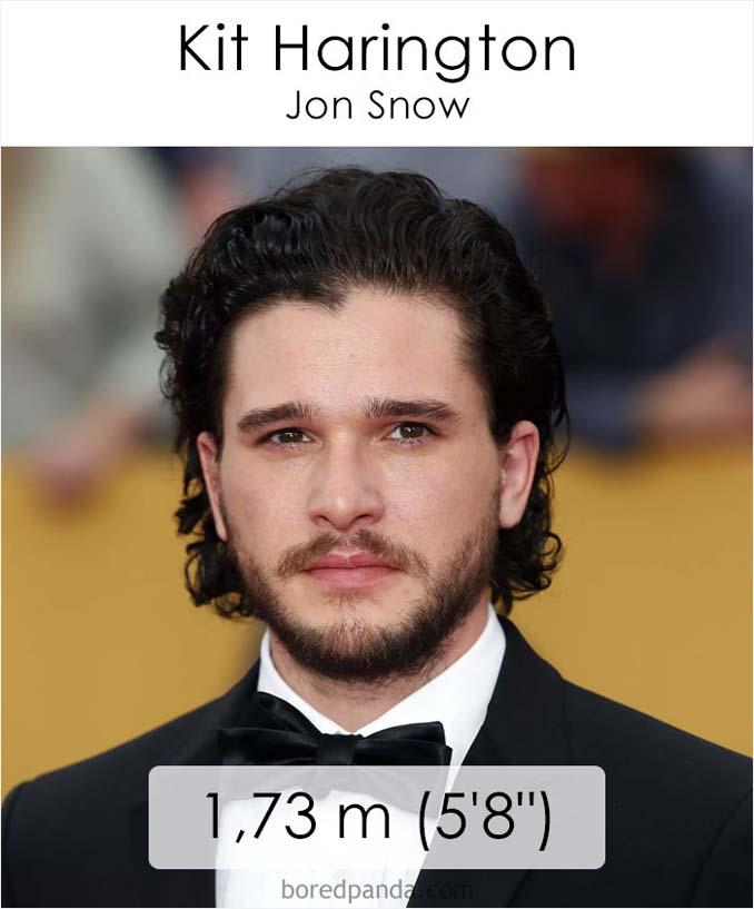 Η λίστα με το ύψος των ηθοποιών του Game of Thrones κρύβει πολλές εκπλήξεις (15)