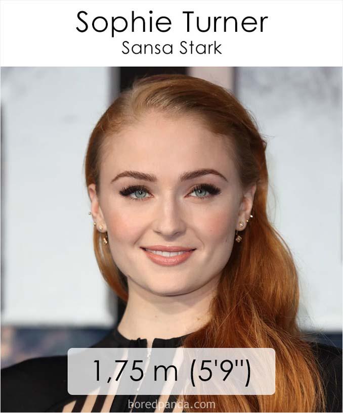 Η λίστα με το ύψος των ηθοποιών του Game of Thrones κρύβει πολλές εκπλήξεις (19)