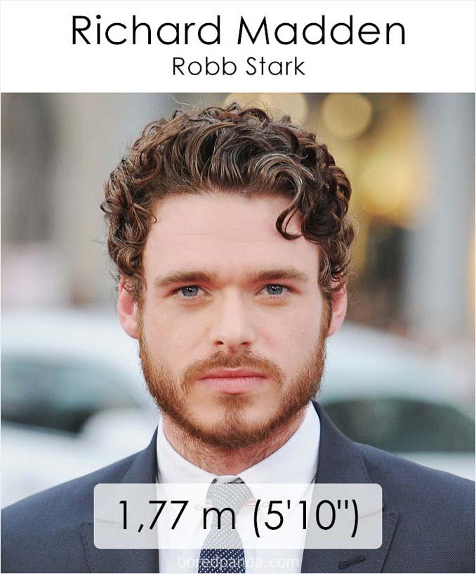 Η λίστα με το ύψος των ηθοποιών του Game of Thrones κρύβει πολλές εκπλήξεις (25)