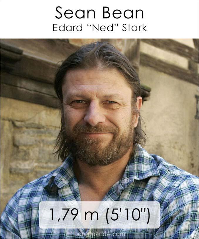 Η λίστα με το ύψος των ηθοποιών του Game of Thrones κρύβει πολλές εκπλήξεις (27)