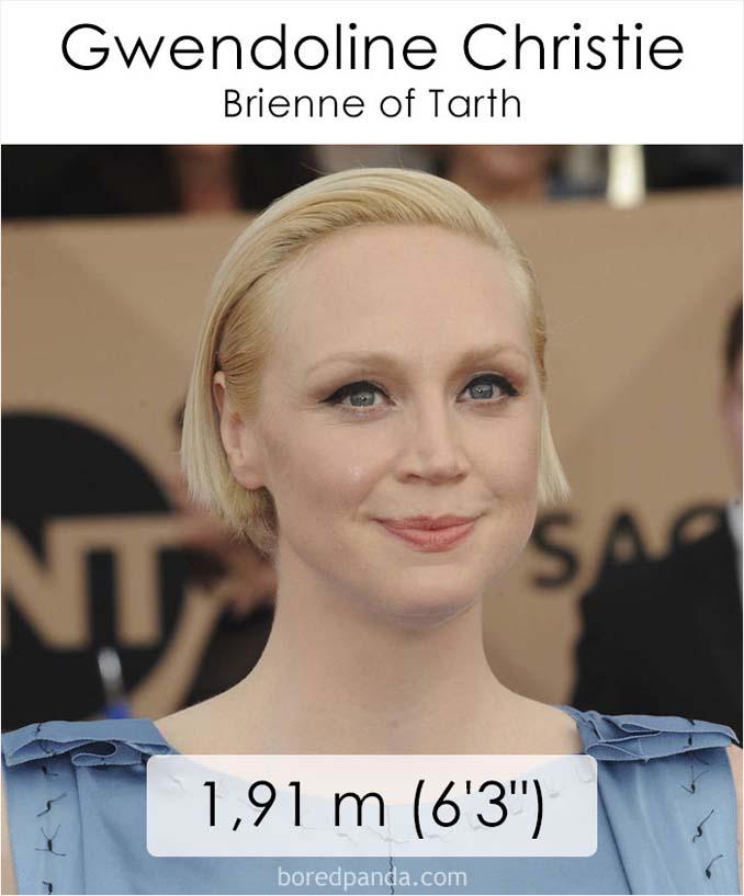 Η λίστα με το ύψος των ηθοποιών του Game of Thrones κρύβει πολλές εκπλήξεις (43)