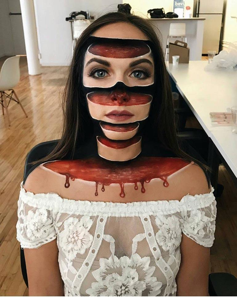 Μακιγιάζ ειδικών εφέ που προκαλεί τρόμο | Φωτογραφία της ημέρας