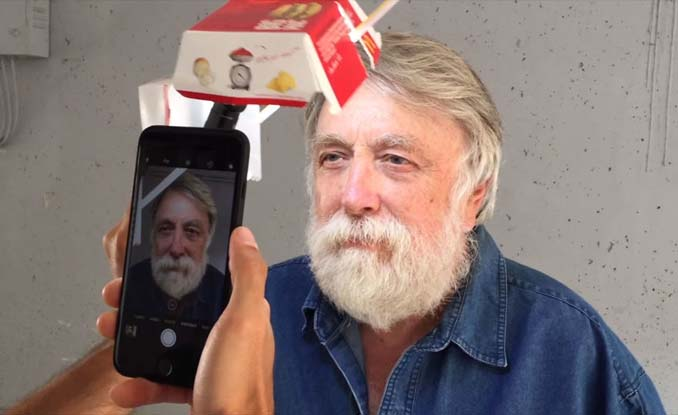 Χρησιμοποίησε κουτί από burger και το iPhone του για να φωτογραφήσει πορτρέτα (3)