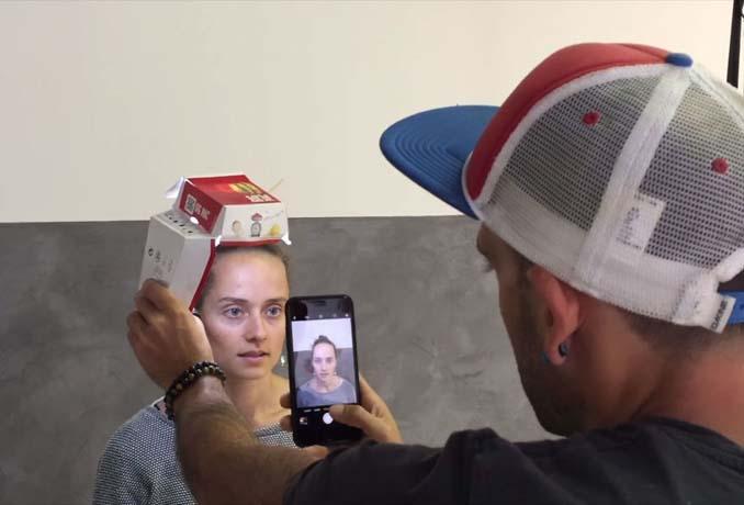 Χρησιμοποίησε κουτί από burger και το iPhone του για να φωτογραφήσει πορτρέτα (5)
