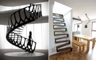 Πρωτότυπες σκάλες για ένα μοντέρνο σπίτι