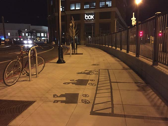 Street artist σχεδίασε ψεύτικες σκιές για να μπερδέψει τους περαστικούς (5)