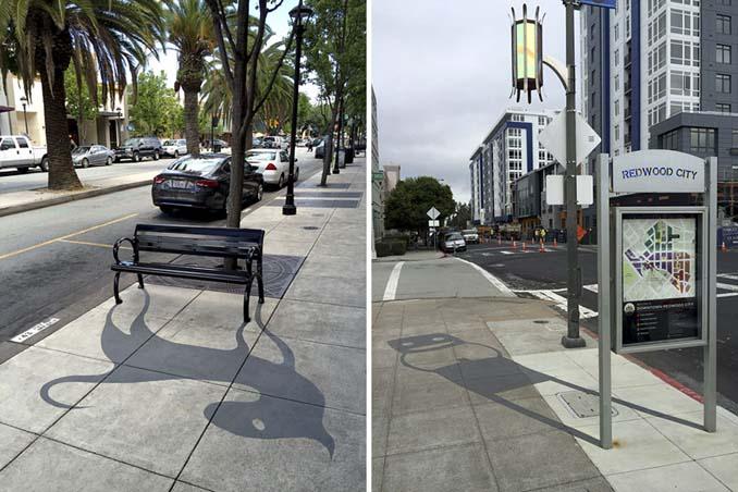 Street artist σχεδίασε ψεύτικες σκιές για να μπερδέψει τους περαστικούς (15)