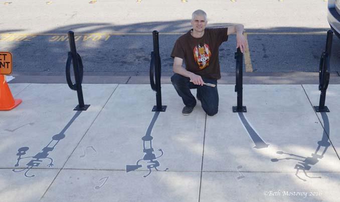 Street artist σχεδίασε ψεύτικες σκιές για να μπερδέψει τους περαστικούς (13)