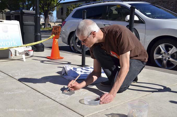 Street artist σχεδίασε ψεύτικες σκιές για να μπερδέψει τους περαστικούς (9)