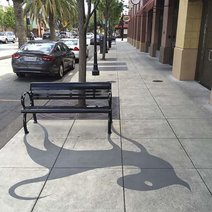 Street artist σχεδίασε ψεύτικες σκιές για να μπερδέψει τους περαστικούς (14)