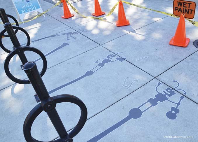 Street artist σχεδίασε ψεύτικες σκιές για να μπερδέψει τους περαστικούς (11)
