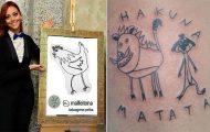 Αυτή η tattoo artist δημιουργεί φρικτά τατουάζ όμως οι πελάτες κάνουν ουρά (22)