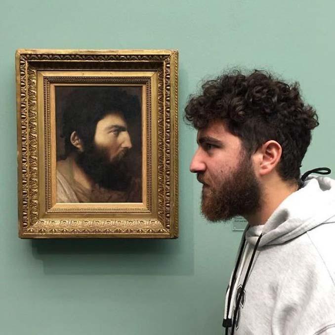 Άνθρωποι που βρήκαν τον σωσία τους σε έργα τέχνης (6)