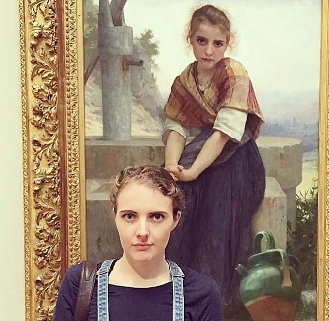 Άνθρωποι που βρήκαν τον σωσία τους σε έργα τέχνης (7)