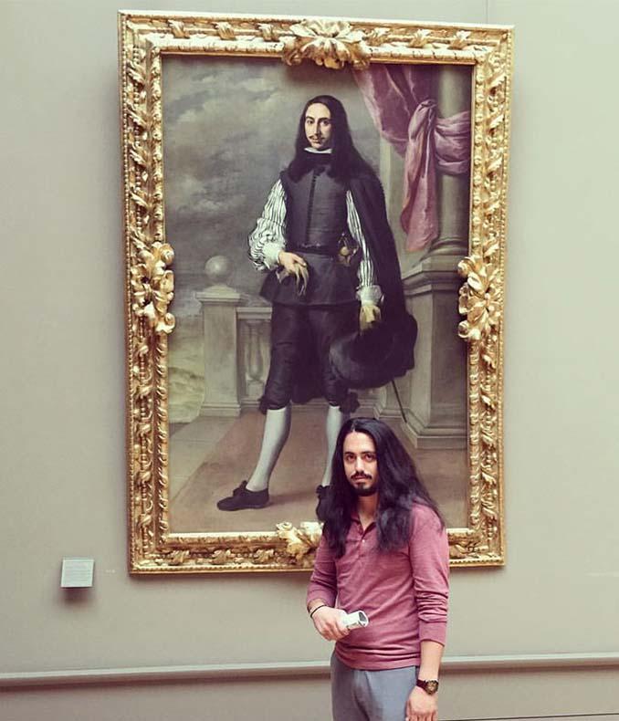 Άνθρωποι που βρήκαν τον σωσία τους σε έργα τέχνης (12)