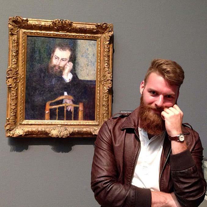 Άνθρωποι που βρήκαν τον σωσία τους σε έργα τέχνης (18)