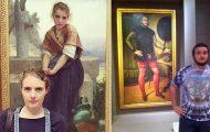Άνθρωποι που βρήκαν τον σωσία τους σε έργα τέχνης