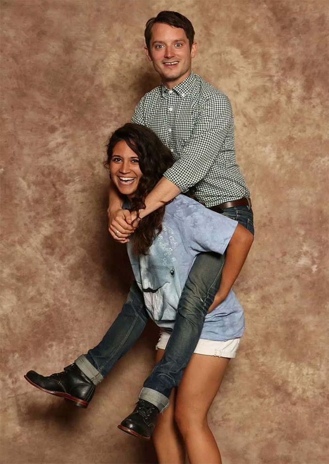 Οι απίστευτες και ξεκαρδιστικές φωτογραφίες του Elijah Wood με τους fans του (7)
