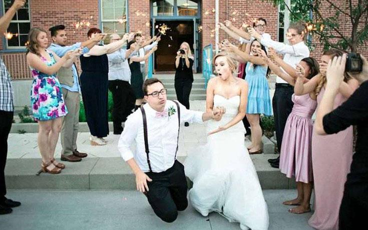Αστείες φωτογραφίες γάμων #84 (1)