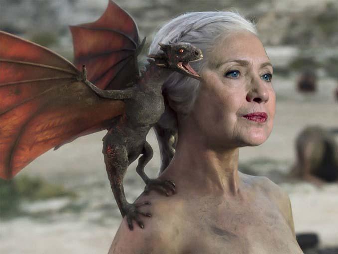 Διάσημα πρόσωπα ως χαρακτήρες στο Game of Thrones (6)