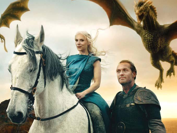 Διάσημα πρόσωπα ως χαρακτήρες στο Game of Thrones (9)