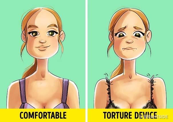 Ειλικρινή σκίτσα που κάθε γυναίκα με μεγάλο στήθος θα καταλάβει (5)
