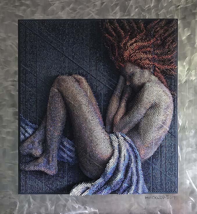 Καλλιτέχνης δημιουργεί εντυπωσιακά πορτρέτα χρησιμοποιώντας 20.000 βίδες (1)