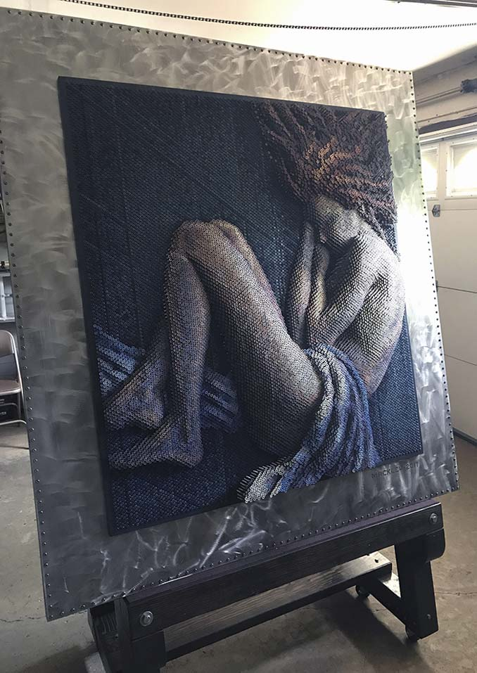 Καλλιτέχνης δημιουργεί εντυπωσιακά πορτρέτα χρησιμοποιώντας 20.000 βίδες (2)