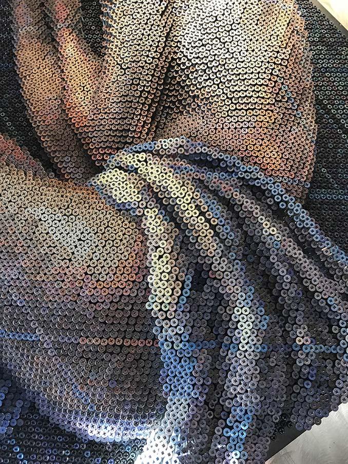 Καλλιτέχνης δημιουργεί εντυπωσιακά πορτρέτα χρησιμοποιώντας 20.000 βίδες (5)