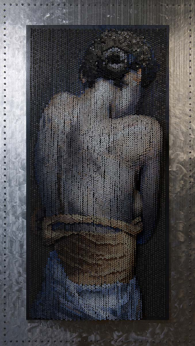 Καλλιτέχνης δημιουργεί εντυπωσιακά πορτρέτα χρησιμοποιώντας 20.000 βίδες (9)