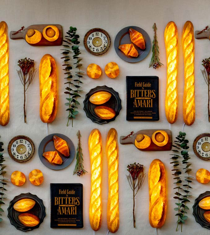 Φωτιστικά από ψωμί (16)