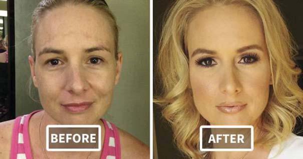 Φωτογραφίες πριν και μετά το μακιγιάζ που θα νομίζεις πως βλέπεις άλλον άνθρωπο (4)