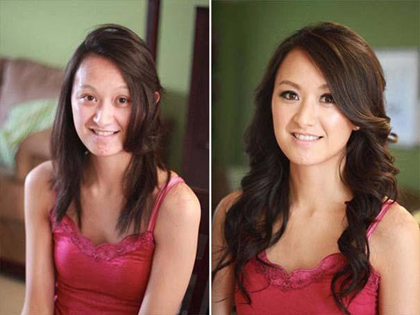 Φωτογραφίες πριν και μετά το μακιγιάζ που θα νομίζεις πως βλέπεις άλλον άνθρωπο (10)