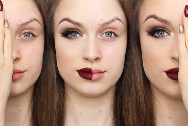 Φωτογραφίες πριν και μετά το μακιγιάζ που θα νομίζεις πως βλέπεις άλλον άνθρωπο (11)