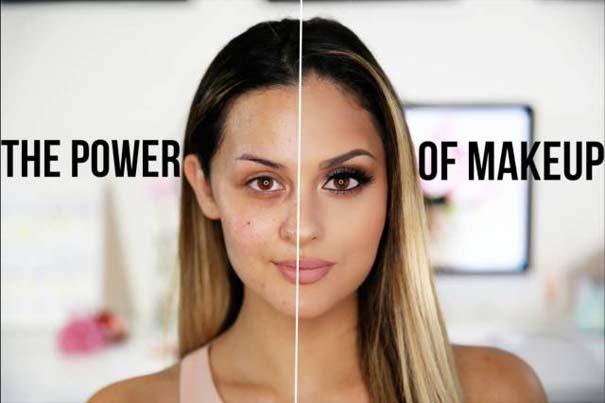 Φωτογραφίες πριν και μετά το μακιγιάζ που θα νομίζεις πως βλέπεις άλλον άνθρωπο (14)