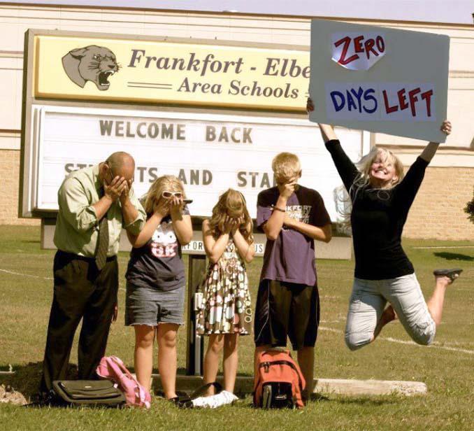 Γονείς που στέλνουν τα παιδιά τους πίσω στο σχολείο (8)