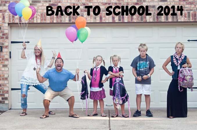 Γονείς που στέλνουν τα παιδιά τους πίσω στο σχολείο (10)