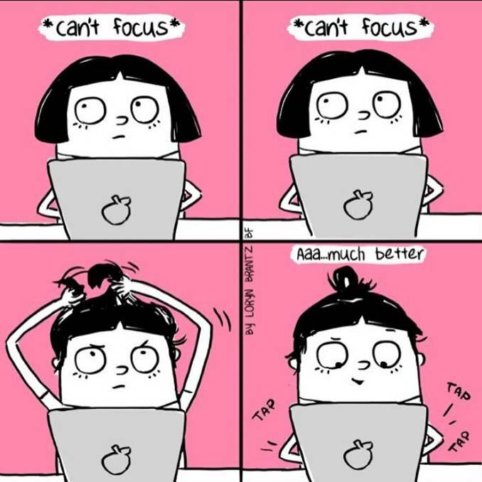 Γυναικεία προβλήματα με τα μαλλιά μέσα από χιουμοριστικά σκίτσα (7)
