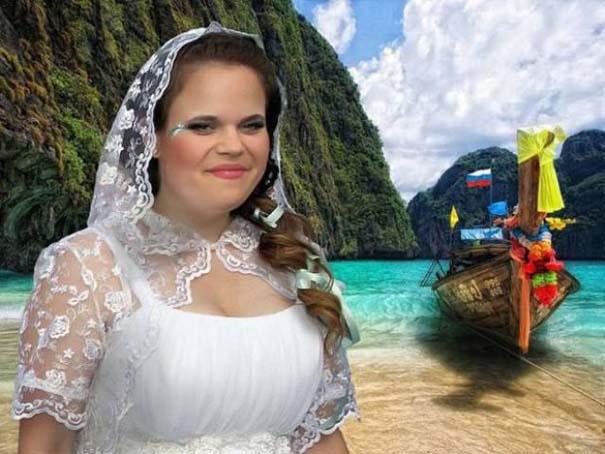 Κωμικοτραγικές γαμήλιες φωτογραφίες από τη Ρωσία (1)