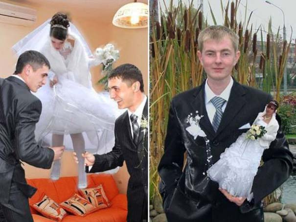 Κωμικοτραγικές γαμήλιες φωτογραφίες από τη Ρωσία (4)