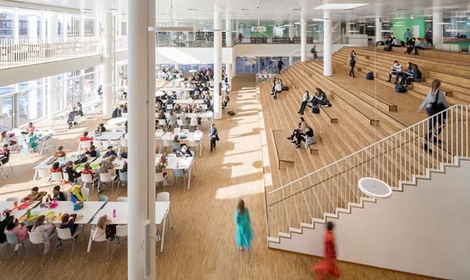 Το μεγαλύτερο σχολείο της Κοπεγχάγης καλύφθηκε ολοκληρωτικά από 12.000 ηλιακά πάνελ (4)