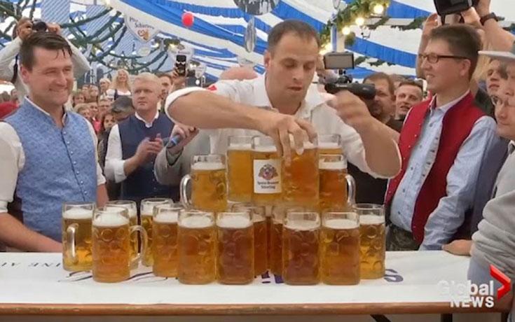 Ένα παγκόσμιο ρεκόρ που μόνο Γερμανός θα μπορούσε να πετύχει