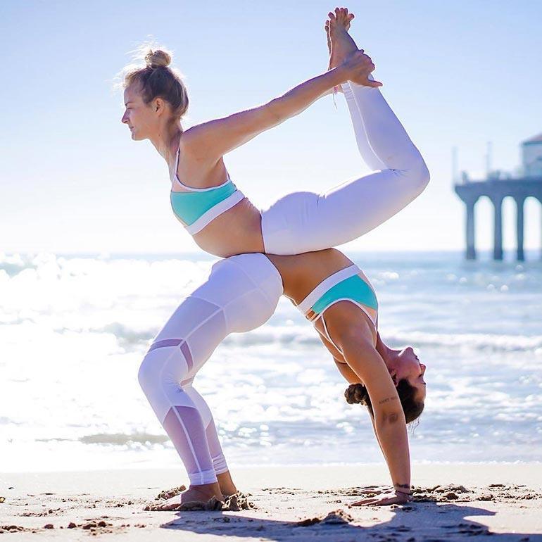 Yoga σαν οφθαλμαπάτη | Φωτογραφία της ημέρας