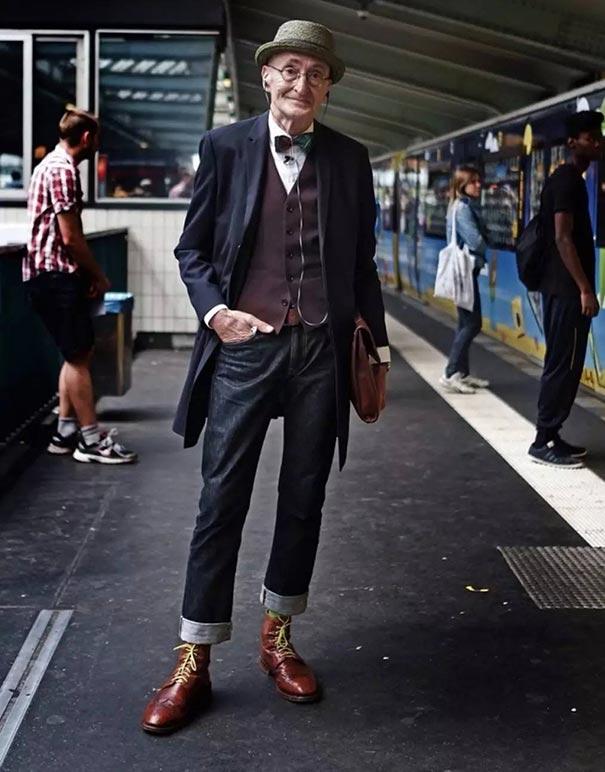 Fashion icon... 104 ετών! | Φωτογραφία της ημέρας