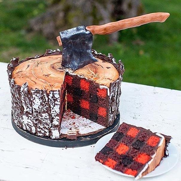 Η τούρτα του ξυλοκόπου | Φωτογραφία της ημέρας