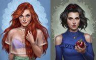 Σκιτσογράφος δείχνει πώς θα ήταν οι πριγκίπισσες της Disney αν ζούσαν στο 2017