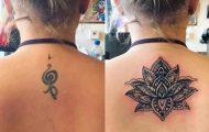 15+1 τατουάζ πριν και μετά την κάλυψή τους