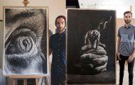 Τεράστια υπερρεαλιστικά έργα τέχνης με μολύβι από τον Jono Dry (16)