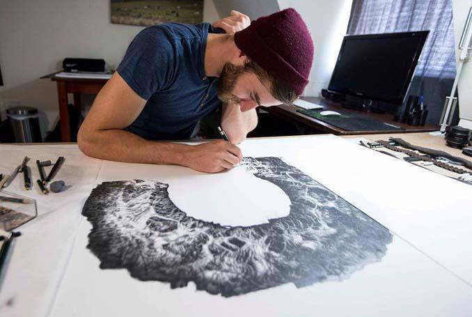Τεράστια υπερρεαλιστικά έργα τέχνης με μολύβι από τον Jono Dry (2)